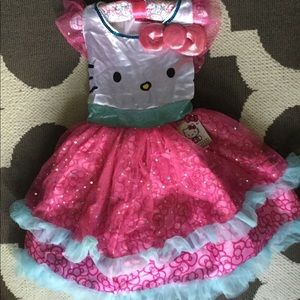 Other - Hello Kitty Dress / Costume girl 4-6X NWT